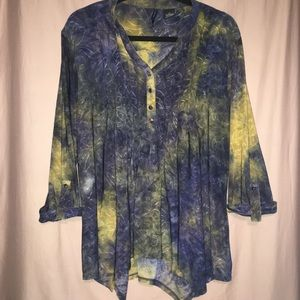 New Directions Jacquard Top